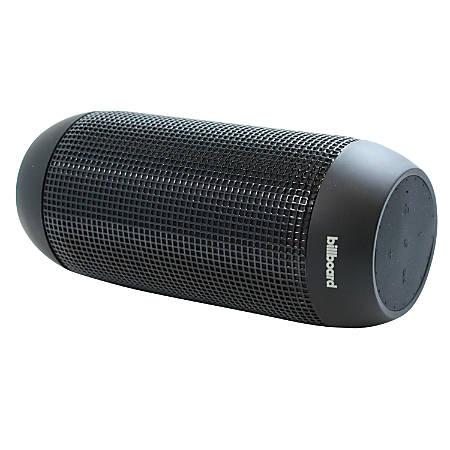"""Billboard Water-Resistant Bluetooth® Speaker, 4.5""""H x 8""""W x 2.5""""D, Black"""