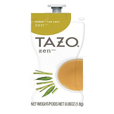 Tazo Zen Tea Single-Serve Cups, 0.06 Oz, Pack Of 80 Cups