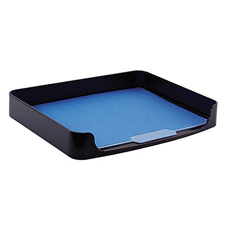 OIC® 2200 Series Side-Loading Tray, Letter Size, Black