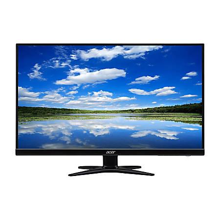 """Acer® G6 27"""" FHD LED Refurbished Widescreen Monitor, VESA Mount, G276HL Kbix"""