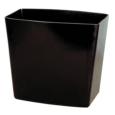 OIC® 2200 Series Wastebasket, 5 Gallons, Black