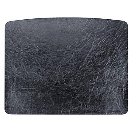 "OIC® 2200 Series Desk Pad, 19 3/4"" x 24 3/4"", Black"