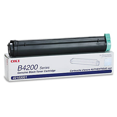 OKI® 42103001 Black Toner Cartridge