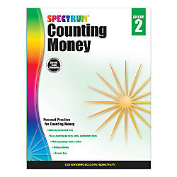 Spectrum Counting Money Workbook Grade 2