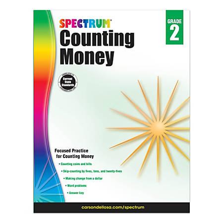 Spectrum® Counting Money Workbook, Grade 2