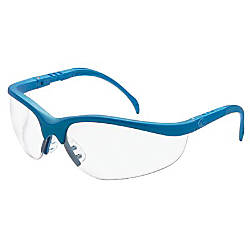 KLONDIKE BLUE FRAME CLEAR LENS SAFETY