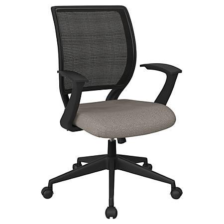 Office Star™ Work Smart Mesh Task Chair, Gold Dust/Black