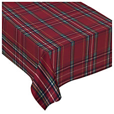 Amscan Christmas Luxury Fabric Table Cover