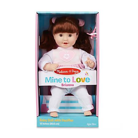 "Melissa & Doug Children's Educational Toys, Brianna Doll, 12"""