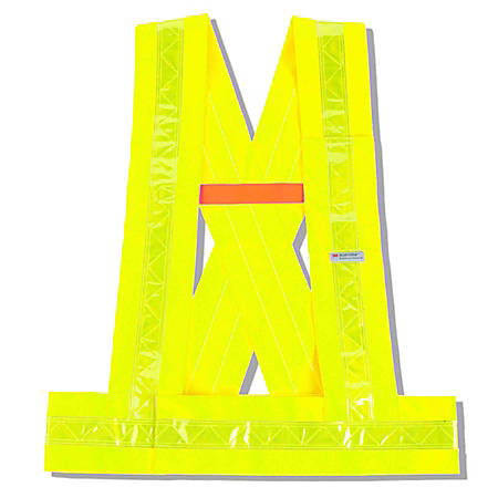 Ergodyne GloWear Safety Vest, Breakaway Sash, Type-O Class 1, Medium/Large, Lime, 8140BA