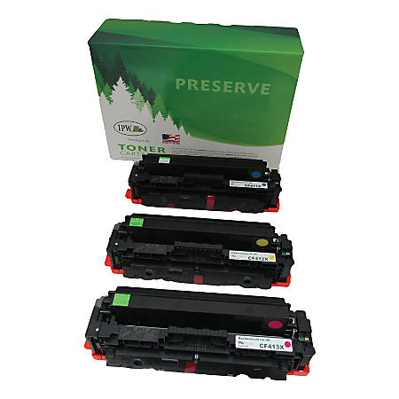 IPW Preserve Brand 54T-XM3-ODP High-Yield Ink Cartridge Compatible With HP CF253XM Cyan/Magenta/Yellow, Pack Of 3