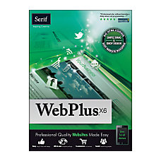 Serif WebPlus X6 Download Version