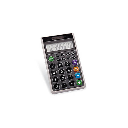 DH-62 Hybrid Wallet Calculator, Assorted Colors (No Choice)