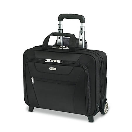 Briefcases at office depot officemax samsonite wheeled business case 13 h colourmoves