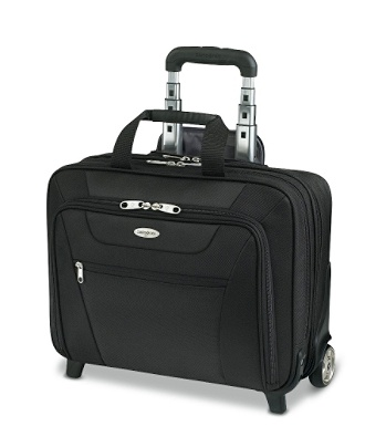 Samsonite Wheeled Business Case 13 H X 17 W 6 12 D Black By Office Depot Officemax