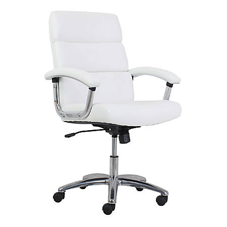 HON® Traction Modern Executive Chair, White