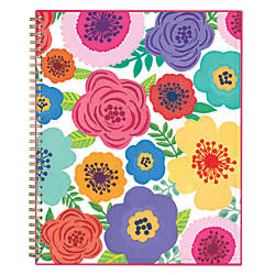 Blue Sky WeeklyMonthly Academic Planner CYO