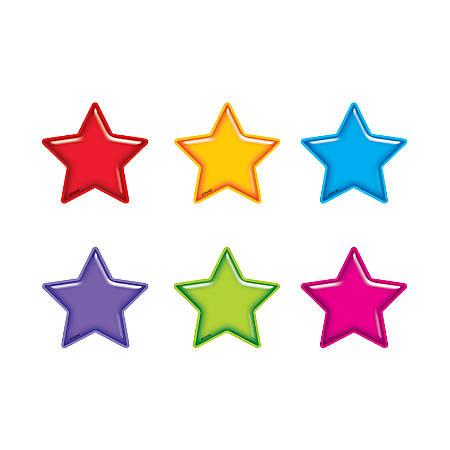 "TREND Mini Accents, 3"", Gumdrop Stars, Pre-K - Grade 6, Pack Of 36"