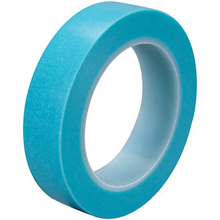 "3M™ 4737T Masking Tape, 3"" Core, 1"" x 108', Blue, Case Of 3"