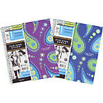 "Five Star® Style Notebook, 8 1/2"" x 11"", 1 Subject, College Ruled, 50 Sheets, Paisley Swirl"