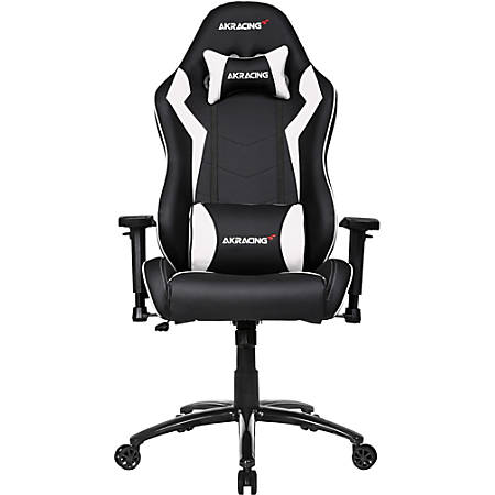AKRacing Core Series SX Faux Leather Gaming Chair, White