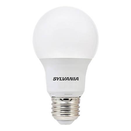 Sylvania A19 1100 Lumens LED Bulbs, 12 Watt, 5000 Kelvin/Daylight, Pack Of 6 Bulbs