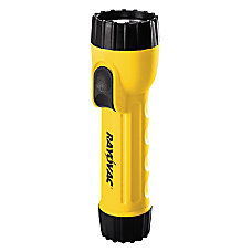 Rayovac Industrial Tough D Cell Flashlight