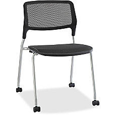 Lorell Armless Stackable Guest Chair Mesh
