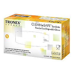 Tronex CLEANnSAFE Disposable Powdered Free Synthetic