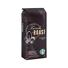 Starbucks French Roast Ground Coffee16 Oz