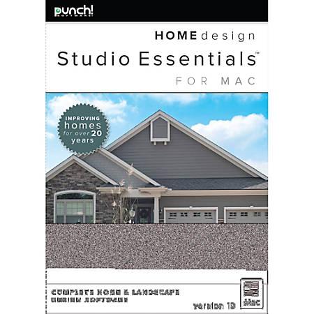 Punch home design studio essentials for mac v19 download for Punch home landscape design essentials v19 review