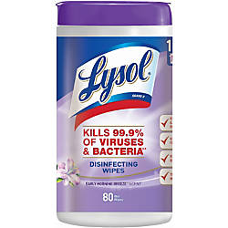 Lysol Early Morning Breeze Disinfecting Wipes