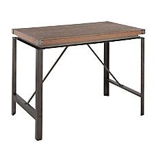 Lumisource Arbor Industrial Counter Table Rectangular