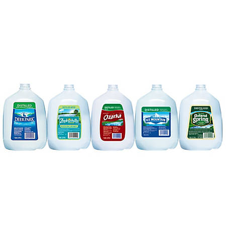 Nestlé Waters Regional Distilled Water, 1 Gallon, Case Of 6 Bottles