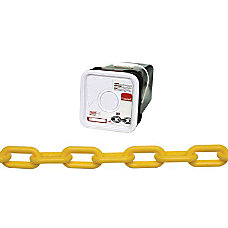 Campbell 8 Plastic Chain Yellow