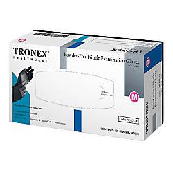 Tronex Fingertip Textured Powder Free Nitrile