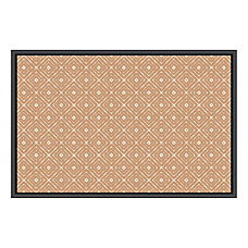 U Brands Fashion Cork Bulletin Board