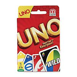 Mattel UNO Card Game Classic Card