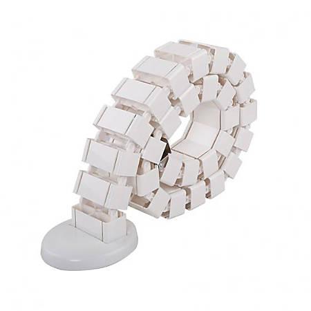 "FlexiSpot Cable Management Spine, 50.4"", White"
