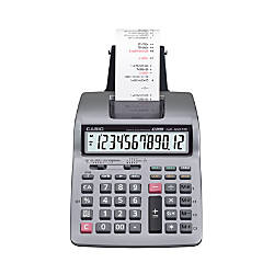 Casio HR 100TM Plus Printing Calculator