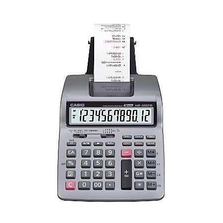 Casio® HR-100TM Plus Printing Calculator