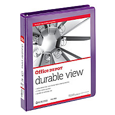 Office Depot Brand Durable Round Ring