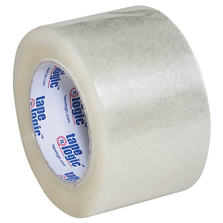 "Tape Logic® Acrylic Sealing Tape, 3"" Core, 3"" x 110 Yd., Clear, Pack Of 6"