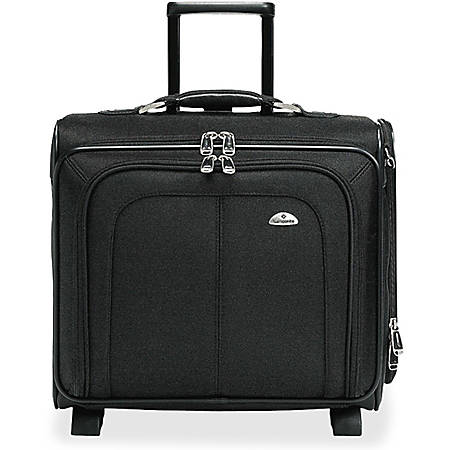 "Samsonite Carrying Case for 15"" Notebook - Black - Ballistic Nylon, Ethylene Vinyl Acetate (EVA) - 16.5"" Height x 18.3"" Width x 9"" Depth"