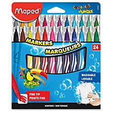 Helix Fine Tip Washable Markers Fine