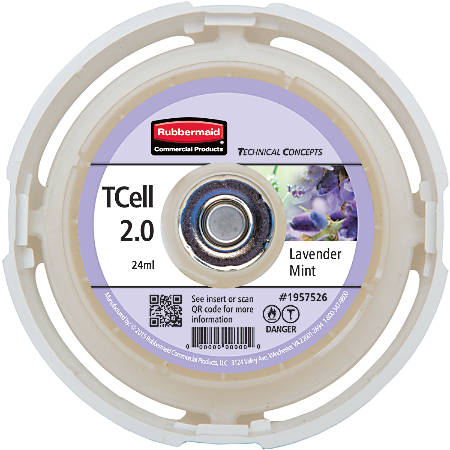 Rubbermaid® T-Cell 2.0 Air Freshener Refill, Lavender & Mint