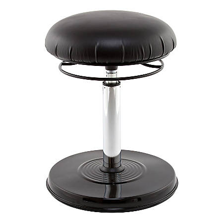 Kore Design Office PLUS Everyday Chair, Vinyl, Black