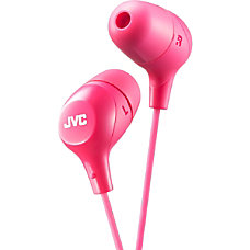 JVC Inner Ear Headphones Stereo Pink