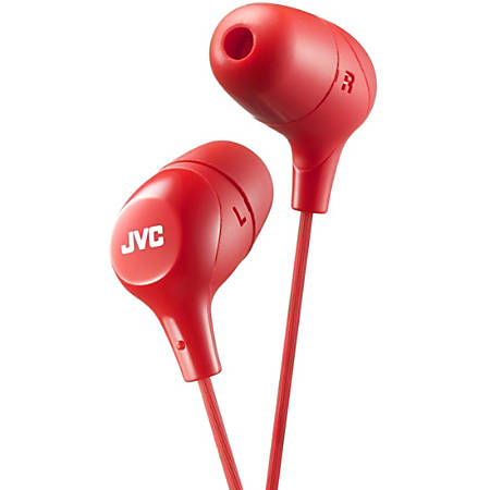 JVC Marshmallow HA-FX38R Earphone