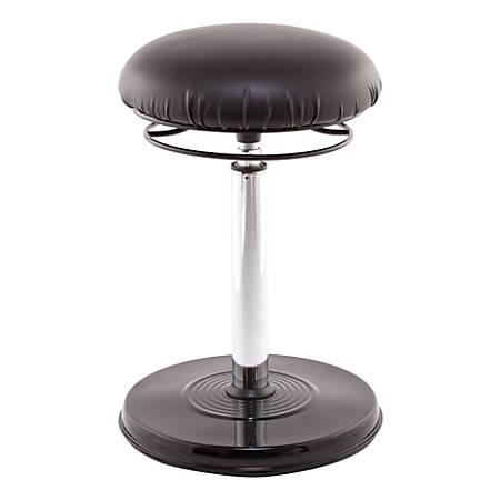 Kore Design Office PLUS Standing Desk Chair, Vinyl, Black